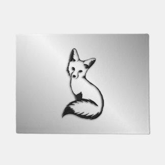 Silver Fox Doormat