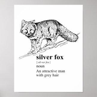 SILVER FOX - POSTER
