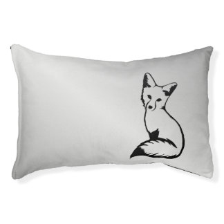 Silver Fox Small Dog Bed
