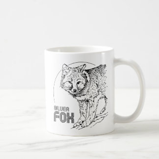 SILVER FOX VINTAGE COFFEE MUG