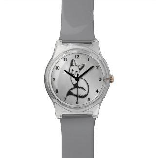 Silver Fox Watch