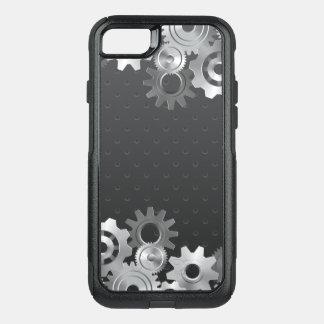 Silver Gear OtterBox Commuter iPhone 8/7 Case