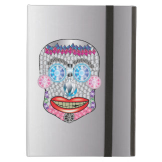 Silver  Gemma Candy Skull Ipad Air Case