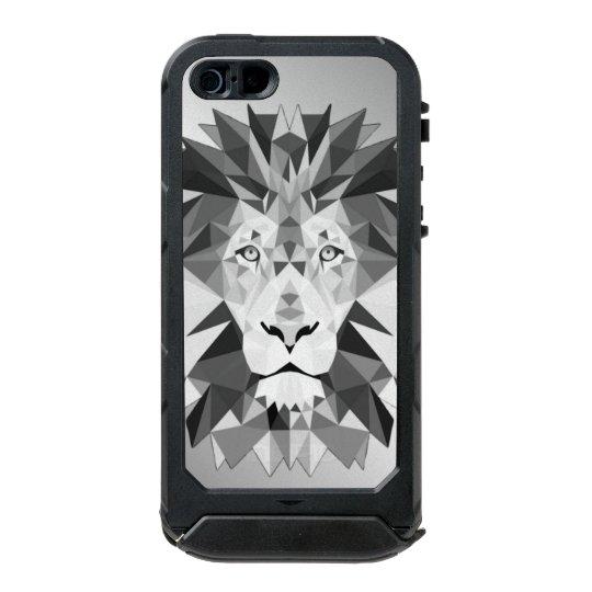 Silver Geometric Lion Incipio ATLAS ID™ iPhone 5 Case