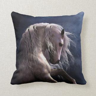 Silver Ghost Designer Pillow