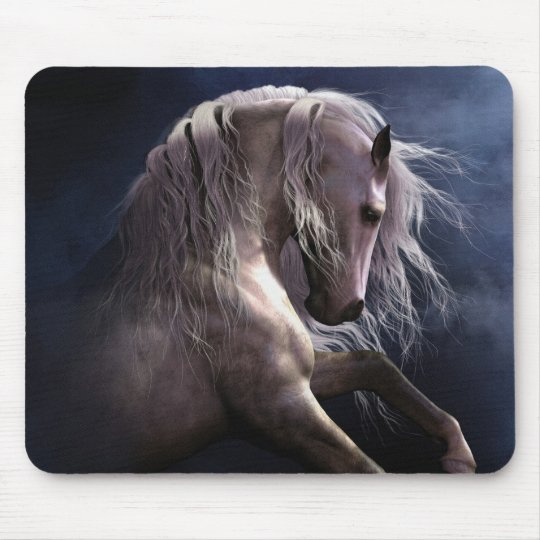 Silver Ghost Mousepad