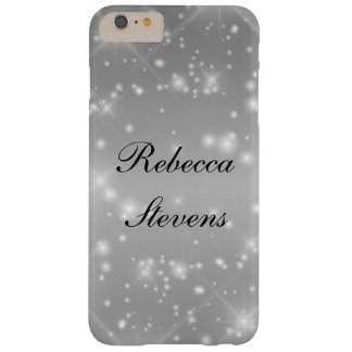 Silver Glamour Barely There iPhone 6 Plus Case