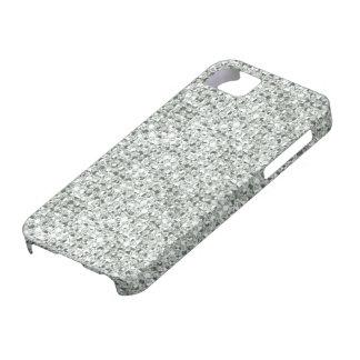 Silver Glitter iPhone 5 Case