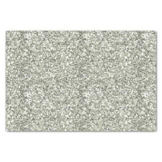 Silver Glitter Like Tissue Paper