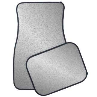 Silver Glitter Look Car and Truck Mats