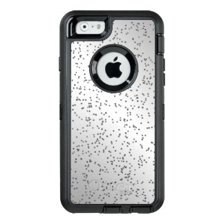Silver Glitter Look OtterBox Defender iPhone Case