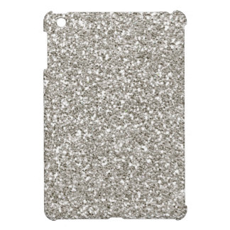 Silver Glitter Mini iPad Case-Christmas, Hanukkah! iPad Mini Cases