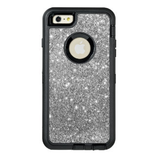 Silver Glitter Print Sparkling Phone Case