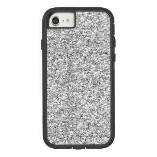 Silver Glitter Printed Case-Mate Tough Extreme iPhone 8/7 Case