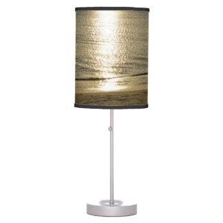 SILVER GOLD SUNRISE SUNSET, OCEAN WATER LAMP