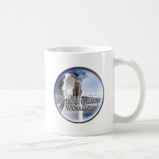 Silver & Grace Woman Classic White Mug