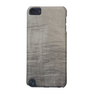 Silver Gray Foiled Fabric Look iPod Touch (5th Generation) Covers