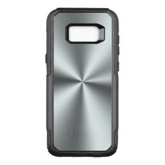 Silver Gray Metallic OtterBox Commuter Samsung Galaxy S8+ Case