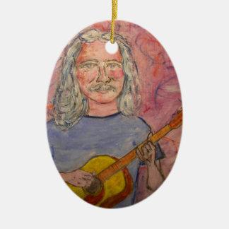 silver haired folk rocker ornaments
