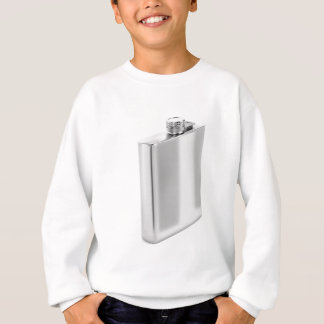 Silver hip flask sweatshirt