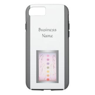 Silver Holistic Healing Hands design Case-Mate iPhone Case