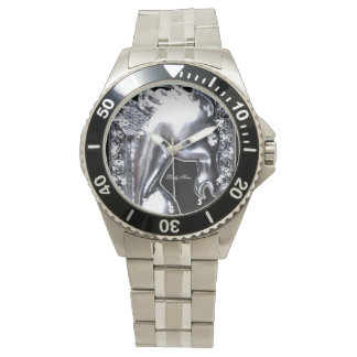 Silver Horse Wrist Watches
