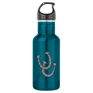 Silver Horseshoes 532 Ml Water Bottle