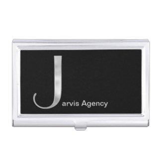 Silver J Monogram Case