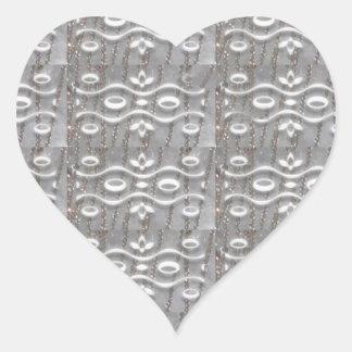 Silver Jewel Strings FUN Art NVN169 NavinJOSHI LUV Stickers