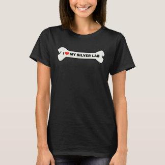 Silver Labrador T-Shirt