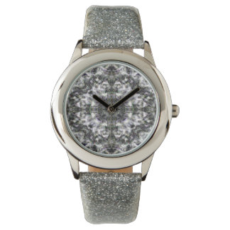Silver Lace Wrist Watch