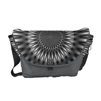 Silver Lagoon Messenger Bag