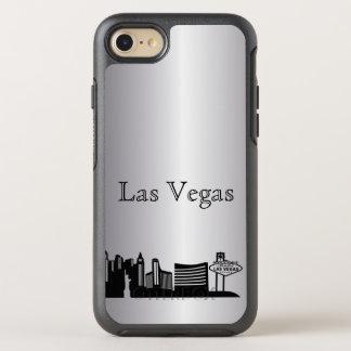 Silver Las Vegas Skyline Silhouette Case