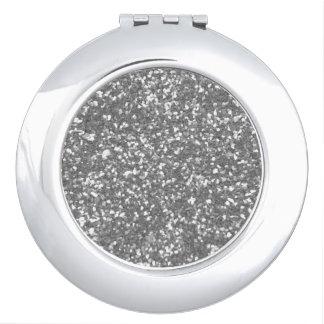 Silver-Lush-Multi Shapes Makeup Mirrors