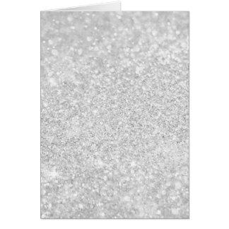 Silver Luxury Design Card