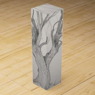 Silver Maple Tree Wine Box