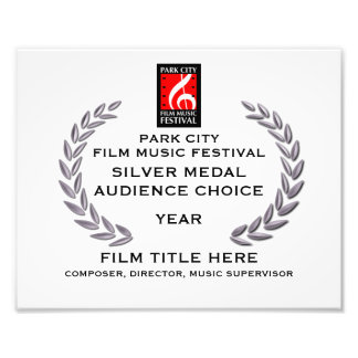 "Silver Medal Certificate 10"" x 8"" Photo Art"