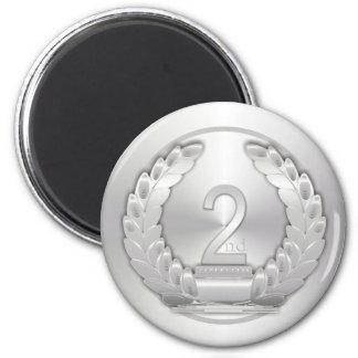 Silver Medal Magnet