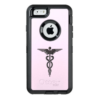 Silver Medical Caduceus OtterBox iPhone 6/6s Case