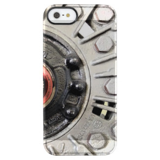 Silver Metal Rivets Clear iPhone SE/5/5s Case