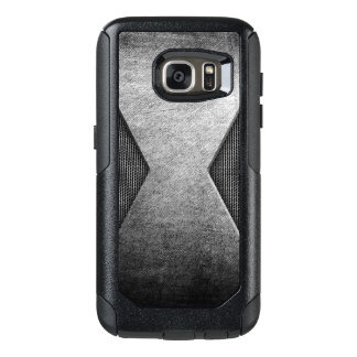 Silver Metal style Samsung Cases