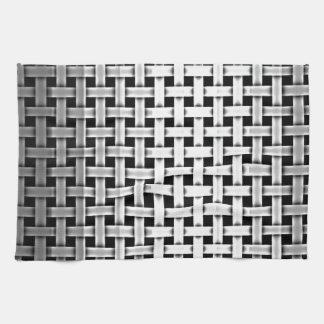 Silver Metal Weave Kitchen Towel