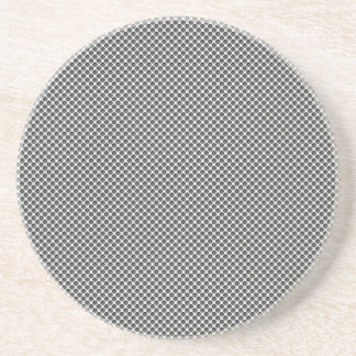 Silver Metal With Holes Pattern Coaster