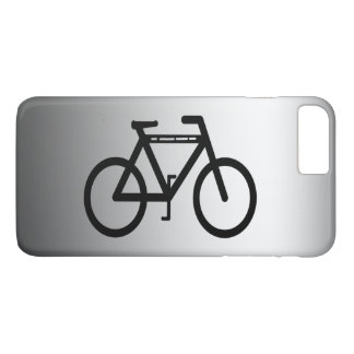 Silver Metallic Bicycle iPhone 7 Plus Case