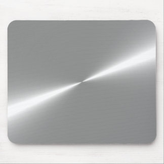 Silver Metallic Look Mouse Pad