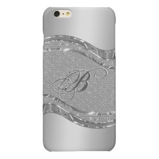 Silver Metallic Look With Diamonds Pattern 2