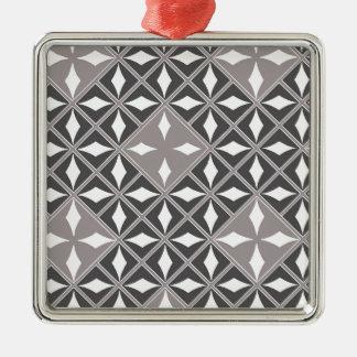 Silver Mine Metal Ornament