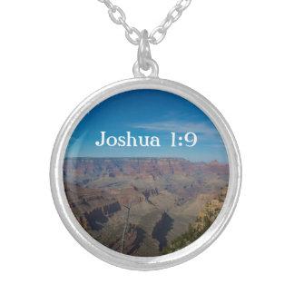 Silver Necklace - Grand Canyon - Bible Verse