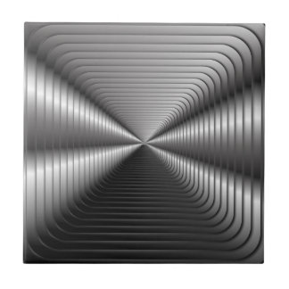 Silver Optical illusion Tile
