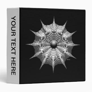 Silver Ornament Vinyl Binders